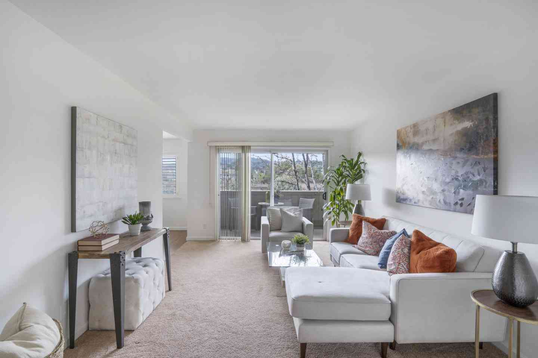 Sunny Living Room, 7150 Rainbow Drive #33, San Jose, CA, 95129,