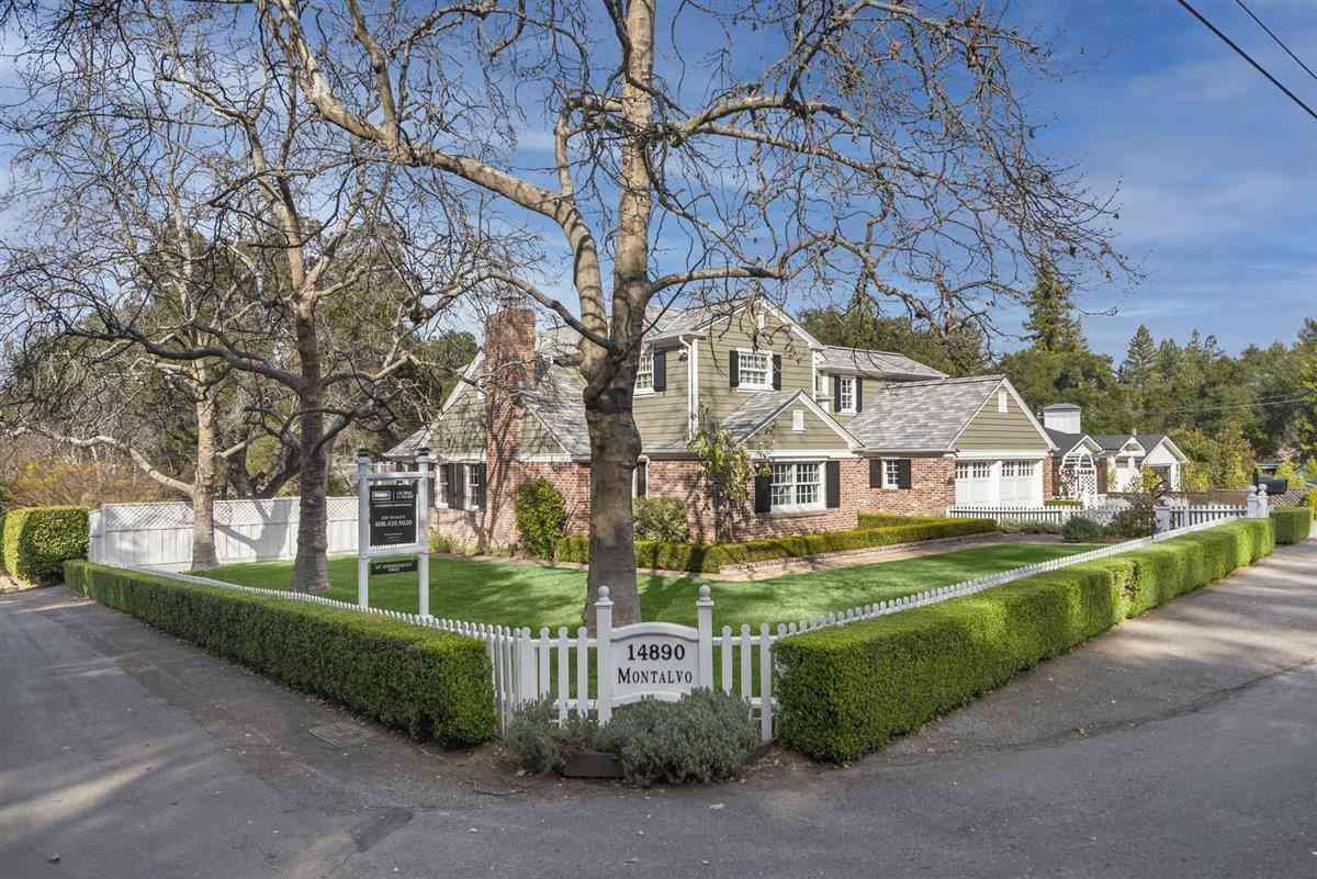 14890 Montalvo Road, Saratoga, CA, 95070,