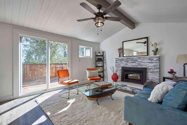 Sunny Living Room, 6950 Chambers Drive, Oakland, CA, 94611,