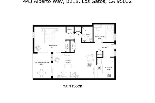 443 Alberto Way #B218