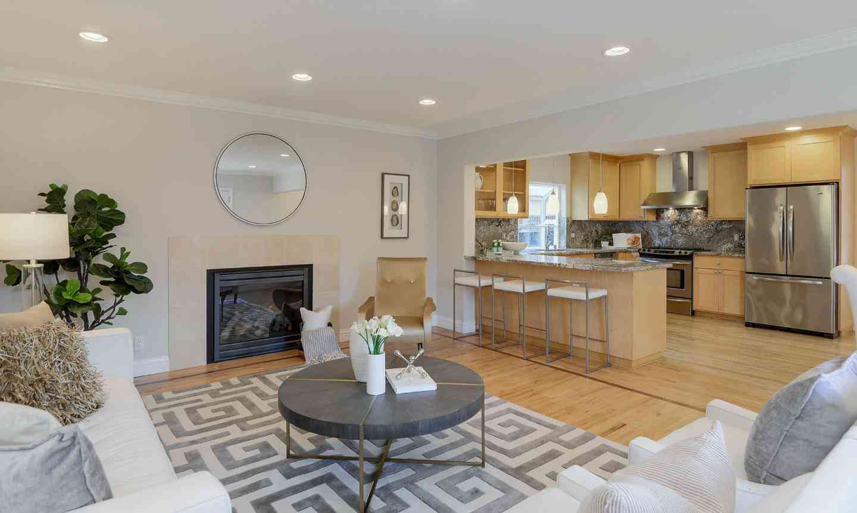 Sunny Living Room, 1067 Heatherstone Avenue, Sunnyvale, CA, 94087,