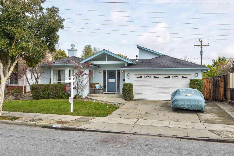 963 Cambridge Avenue, Sunnyvale, CA, 94087,