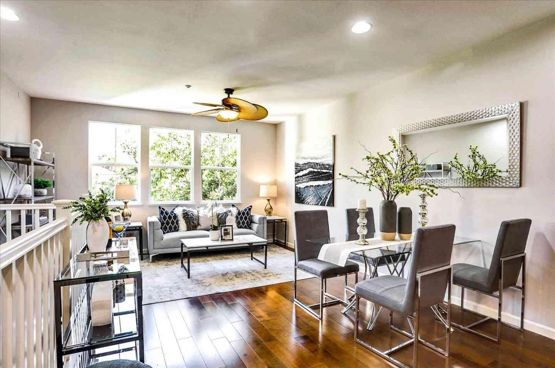 Sunny Living Room, 764 Messina Gardens Lane, San Jose, CA, 95133,