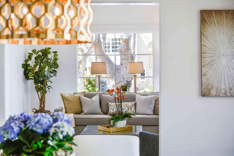Sunny Living Room, 133 Avila Road, San Mateo, CA, 94402,