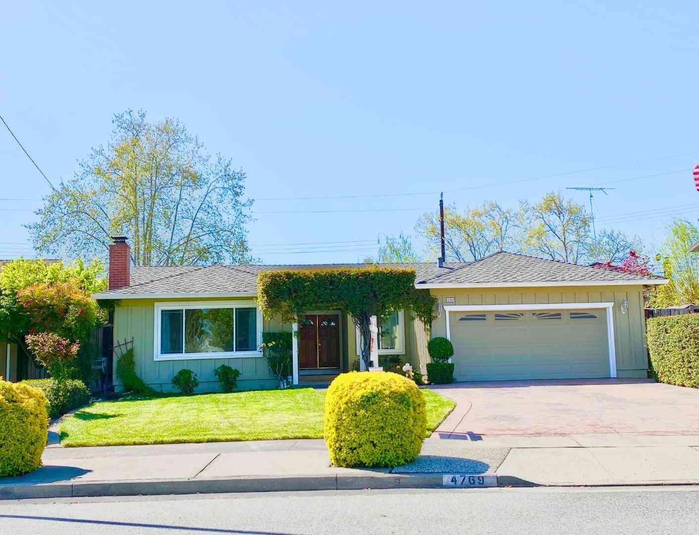 4769 Corrales Drive, San Jose, CA, 95136,