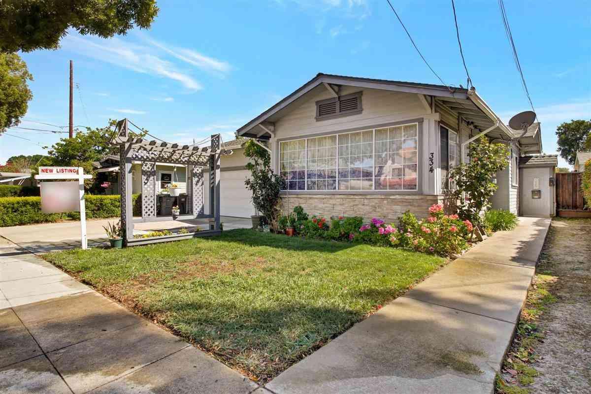 336 East Mc Kinley Avenue, Sunnyvale, CA, 94086,