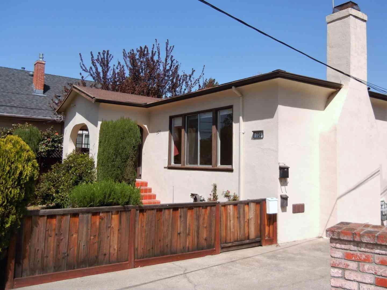 724 Linden Avenue, Burlingame, CA, 94010,