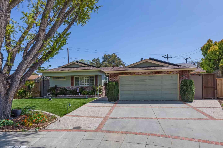 561 Carla Court, Mountain View, CA, 94040,
