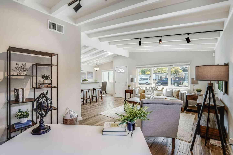 Sunny Living Room, 1959 Jackson Street, Santa Clara, CA, 95050,