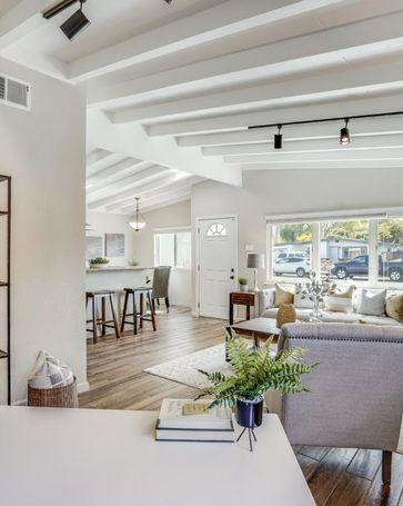 Sunny Living Room, 1959 Jackson Street Santa Clara, CA, 95050