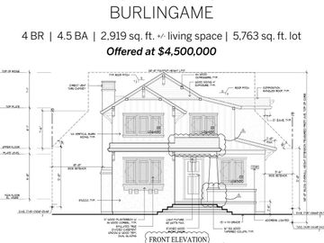 1445 Balboa Avenue, Burlingame, CA, 94010,