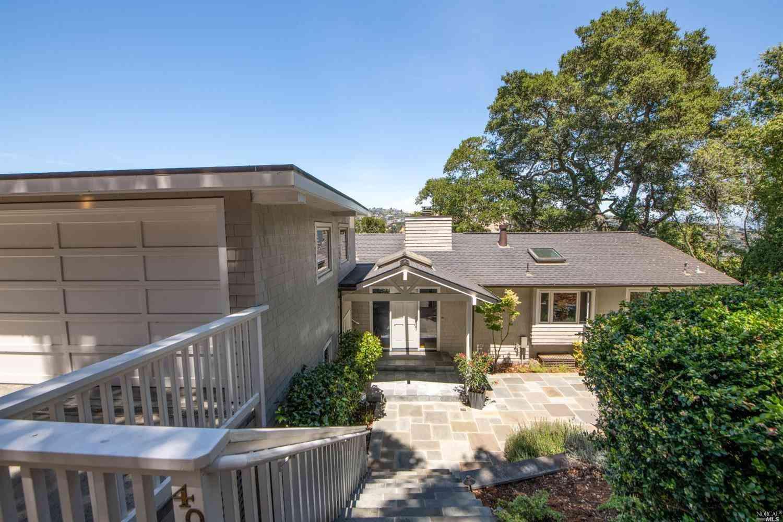 40 Madrona Avenue, Belvedere, CA, 94920,