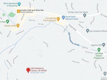 100 Hillside Drive #B, Fairfax, CA, 94930,