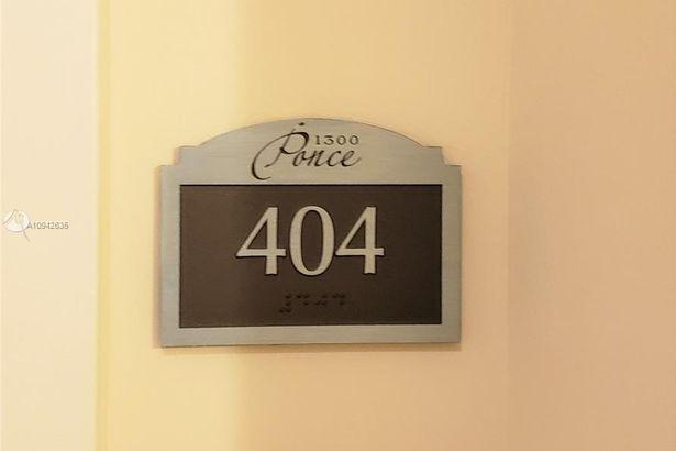 1300 Ponce De Leon Blvd #404