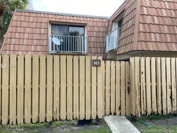 865 Blue Ridge Cir #865, West Palm Beach, FL, 33409,