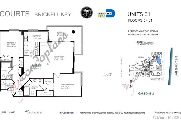 801 Brickell Key Blvd #1801