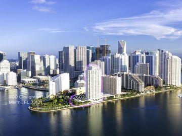 800 Claughton Island Dr #2602, Miami, FL, 33131,