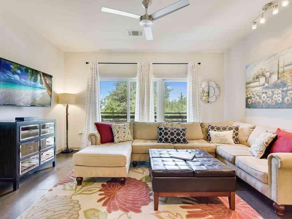 Sunny Living Room, 3600 S Lamar BLVD #201, Austin, TX, 78704,