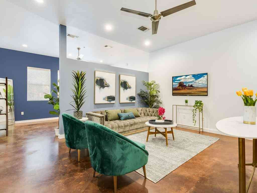 Sunny Living Room, 2931 E 12th ST #104, Austin, TX, 78702,