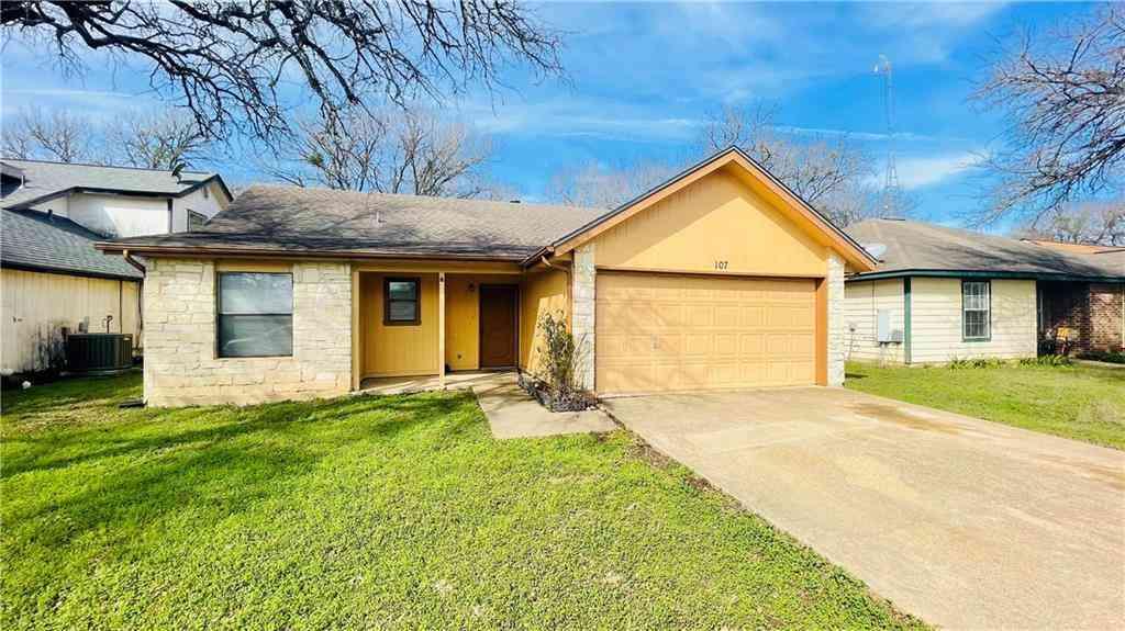 107 S Mockingbird CIR, Cedar Creek, TX, 78612,