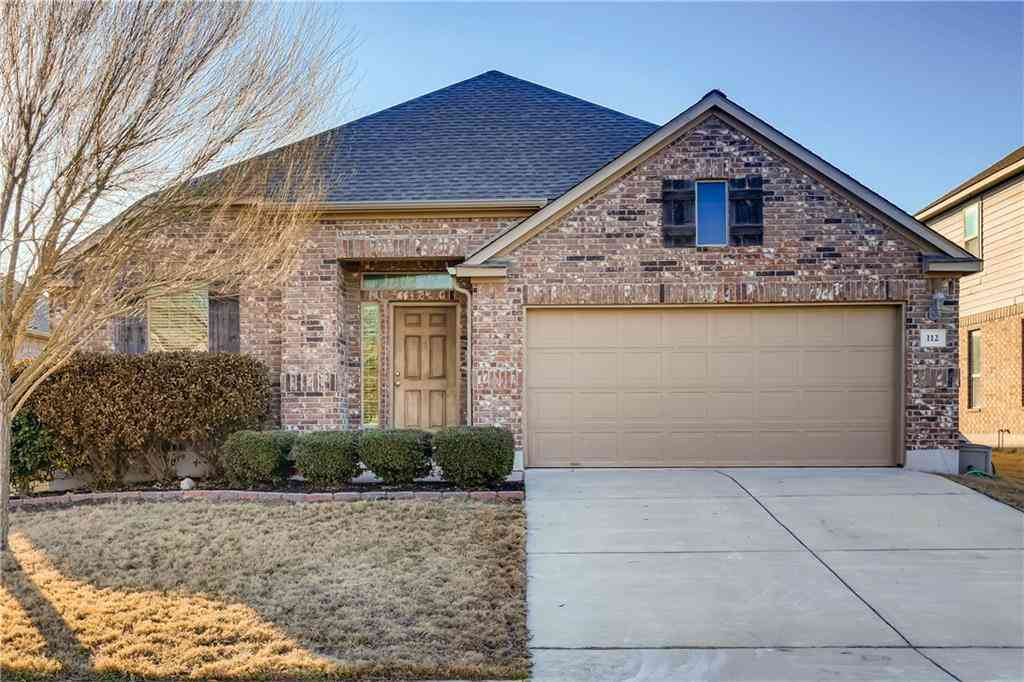 112 Wallin Farms DR, Hutto, TX, 78634,