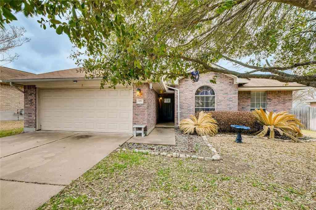 2412 Chestnut PATH, Round Rock, TX, 78664,