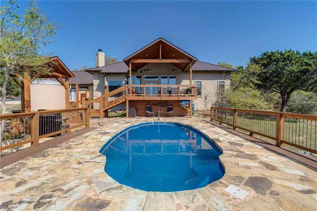 Swimming Pool, 144 Vista Sierra LN, Driftwood, TX, 78619,