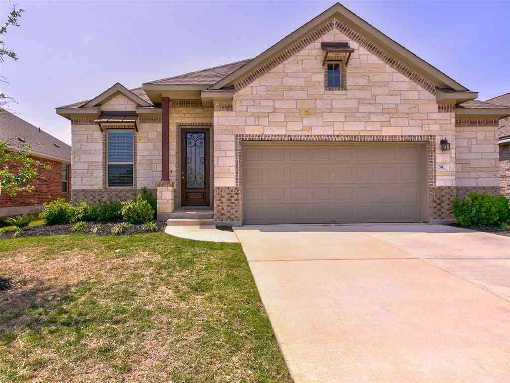 881 Centerra Hills CIR, Round Rock, TX, 78665,