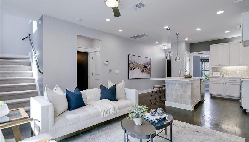 Gray, Living Room, 5309 William Holland Ave #11 Austin, TX, 78756