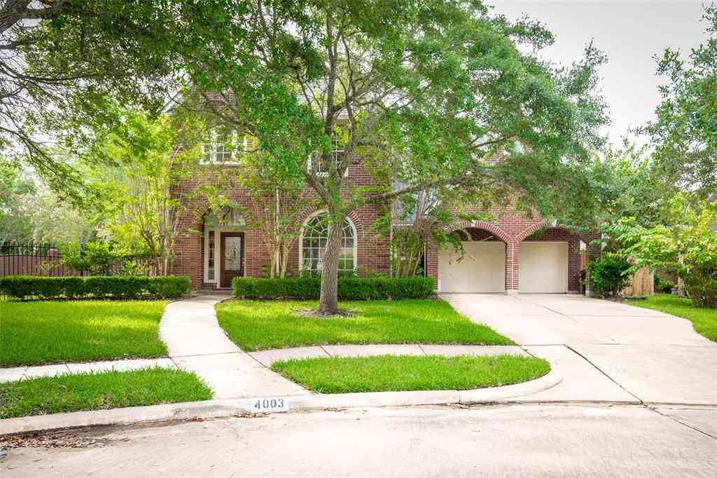4003 Oak Shadows Court, Sugar Land, TX, 77479,