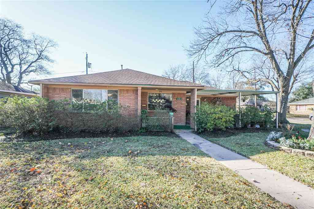 241 W Echo Glen Drive, Houston, TX, 77076,