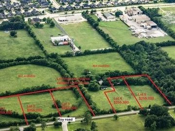00 Roy- Lot 2 Roads, Pearland, TX, 77581,