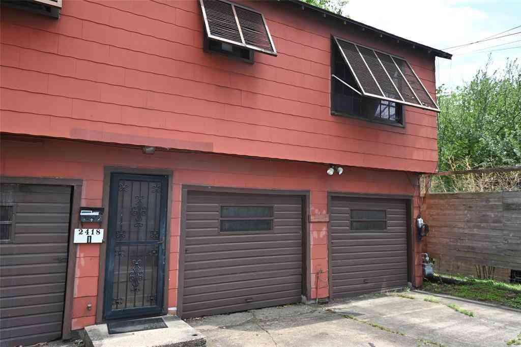 2420 White Oak Drive #1, Houston, TX, 77009,