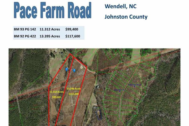 Tract 1 Pace Farm Road #11.312 Acres
