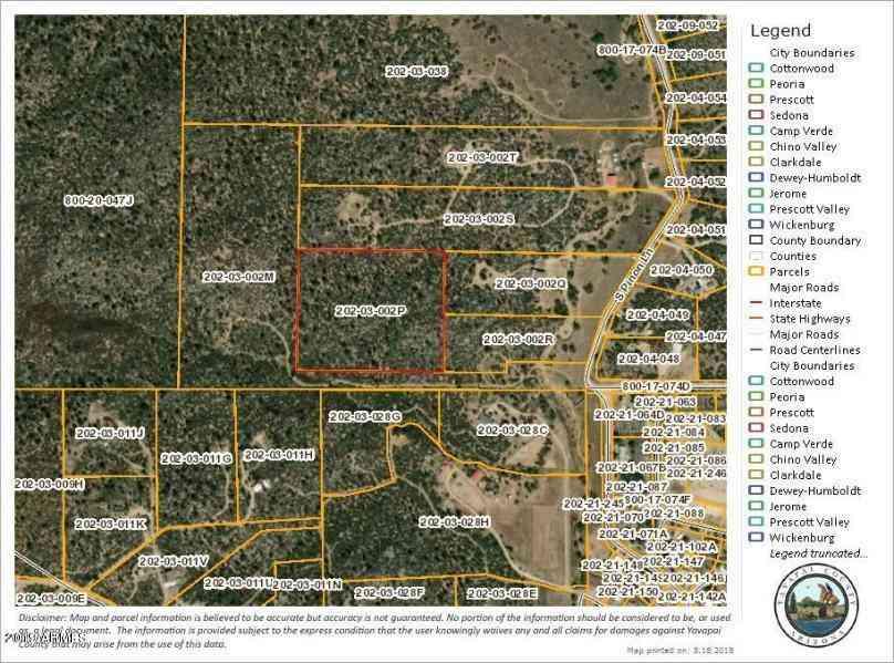 17926 S Pinon Lane #'''_''', Peeples Valley, AZ, 86332,