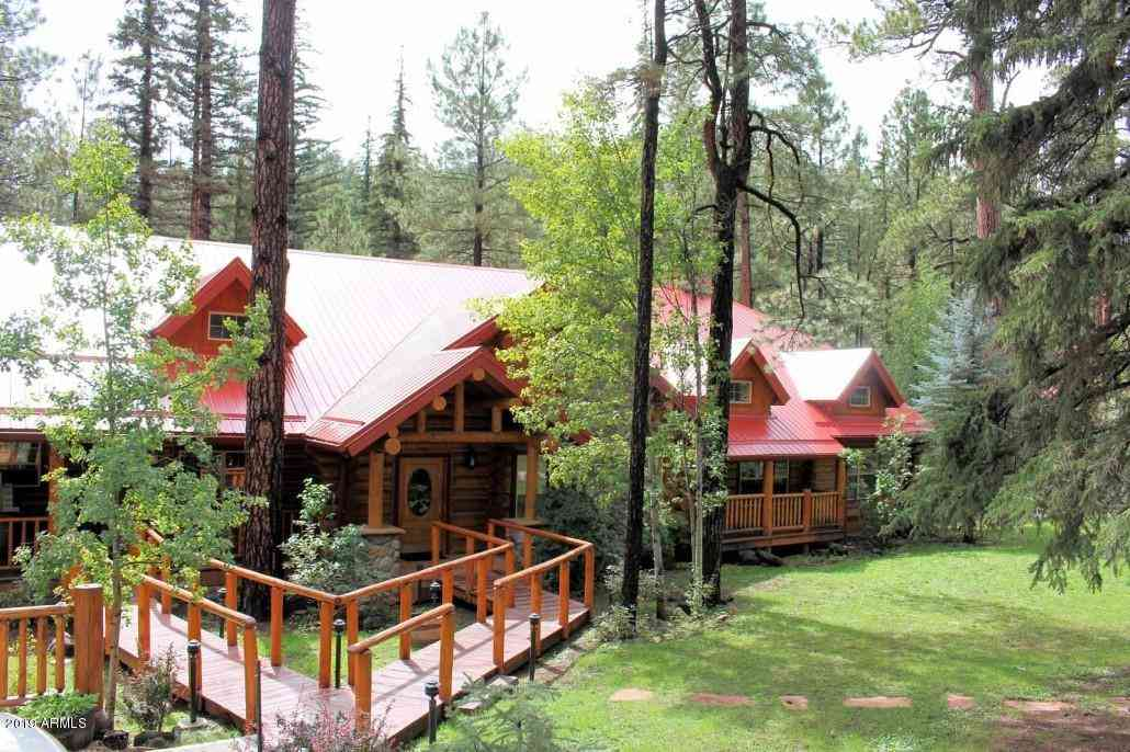 8 COUNTY ROAD 1120 Street, Greer, AZ, 85927,