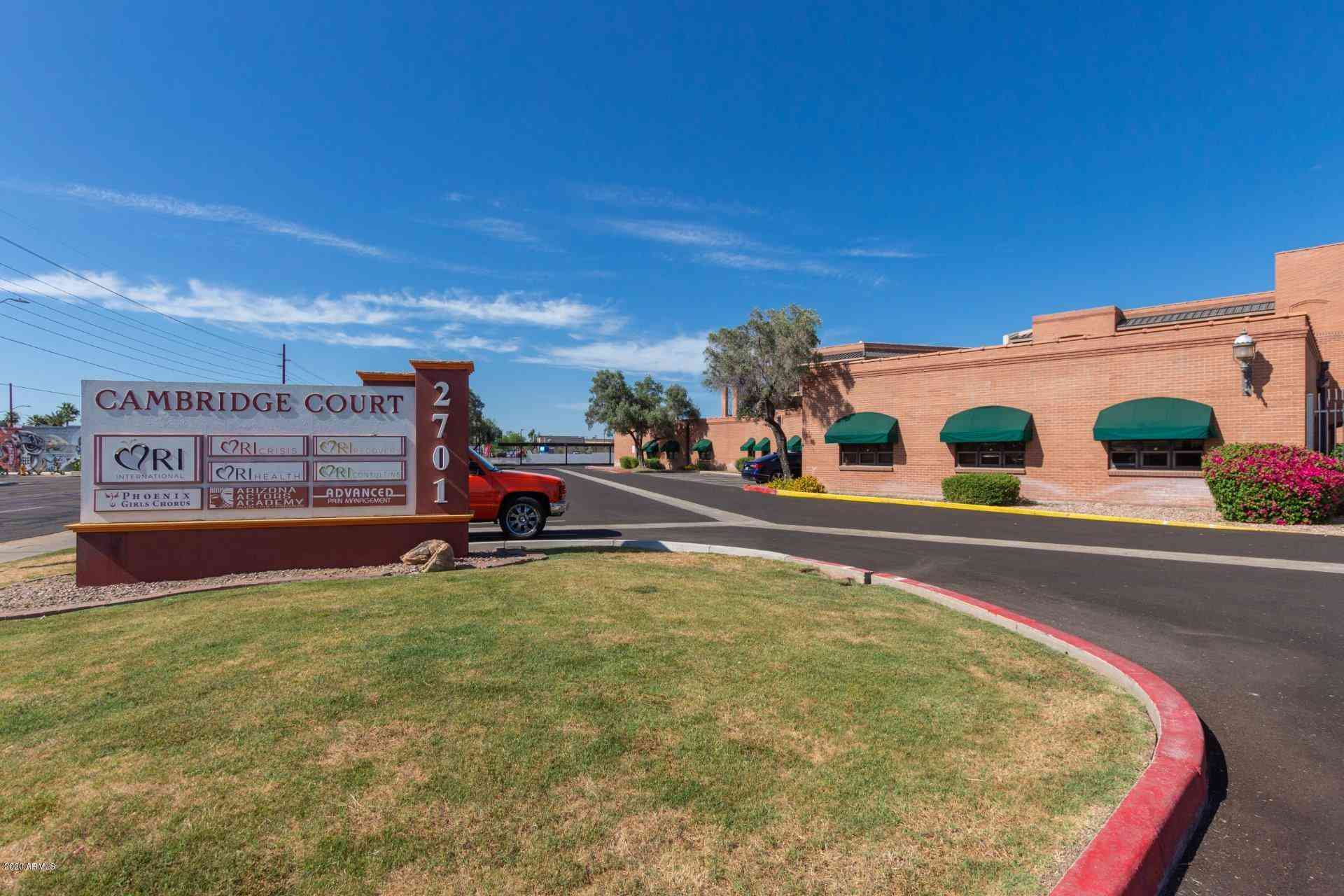 2701 N 16TH Street #108, Phoenix, AZ, 85006,