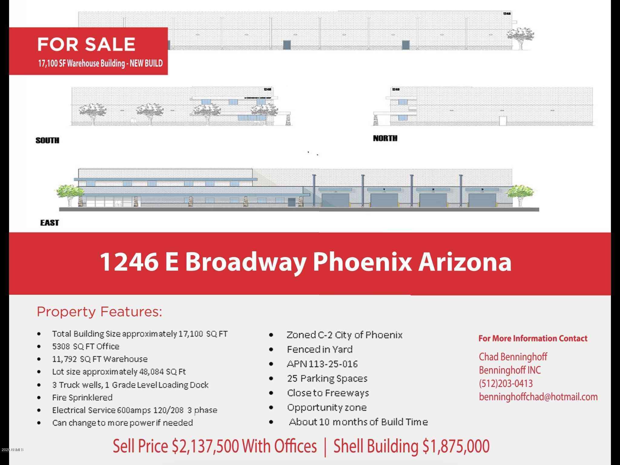 1246 E BROADWAY Road, Phoenix, AZ, 85040,