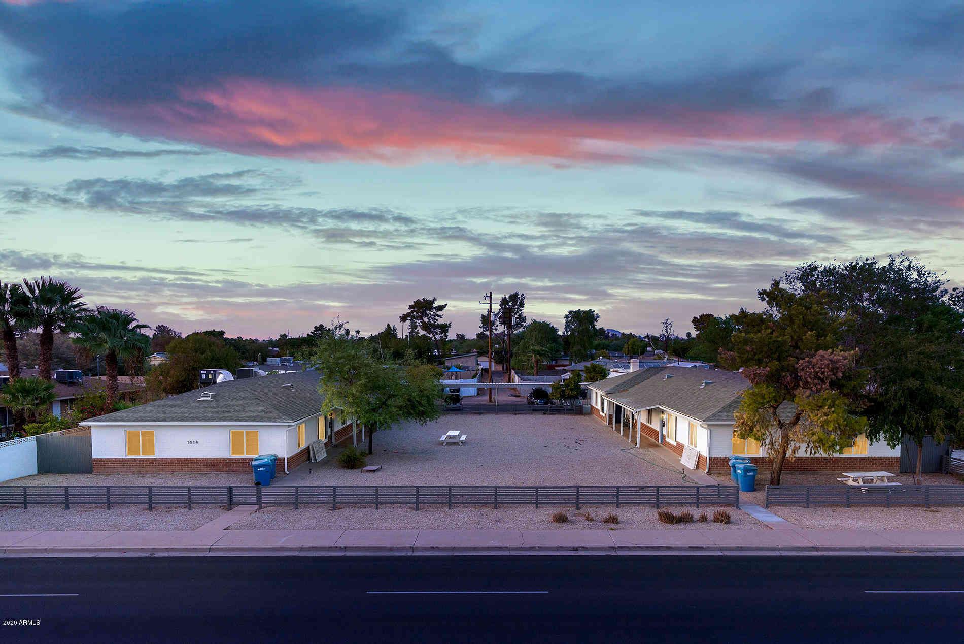 1614 /1608 W OSBORN Road, Phoenix, AZ, 85015,