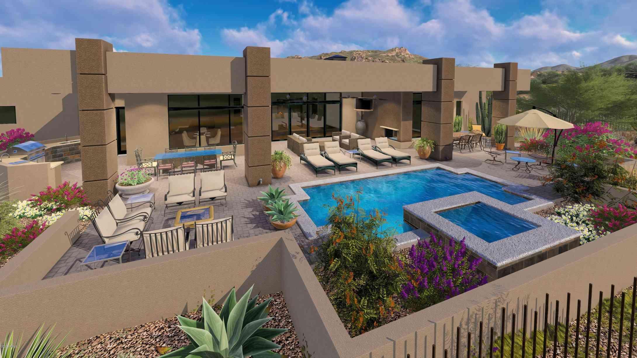Swimming Pool, 9725 E HORIZON Drive, Scottsdale, AZ, 85262,