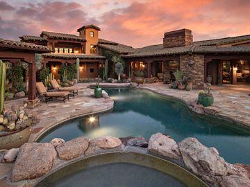 Swimming Pool, 7689 E WHISPER ROCK Trail, Scottsdale, AZ, 85266,