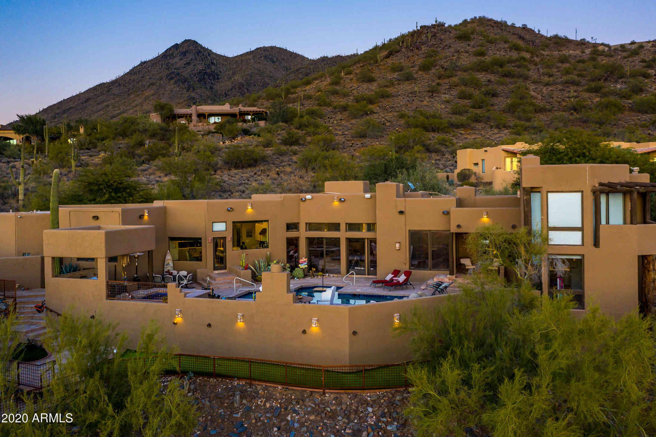 35037 N El Sendero Road, Carefree, AZ, 85377,