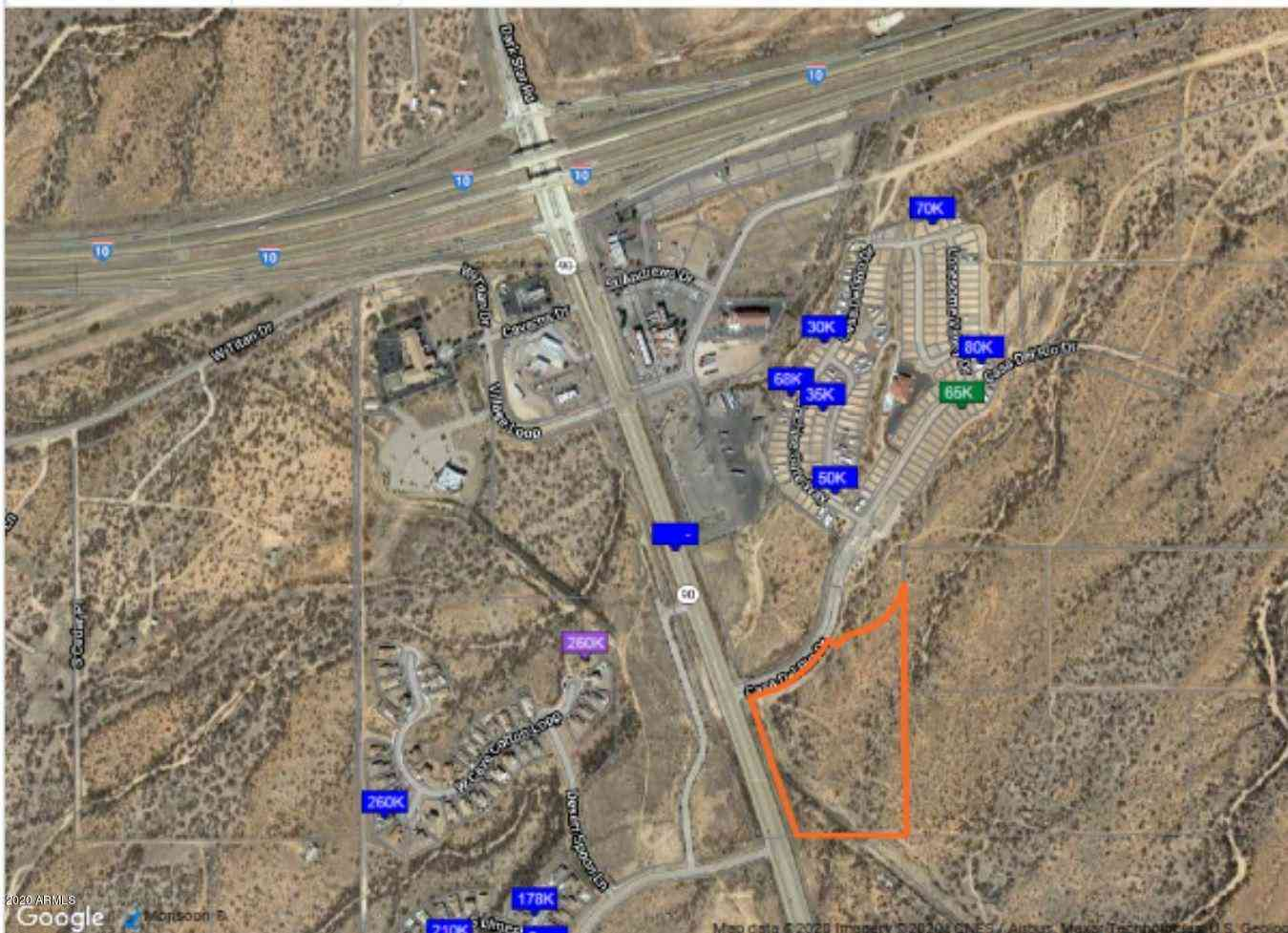 Hwy10/SR90 Intersection Freeway Frontage Freeway #-, Benson, AZ, 85602,