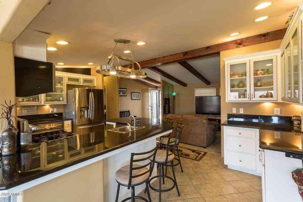 Kitchen, 9418 HILLTOP Drive, Parker, AZ, 85344,
