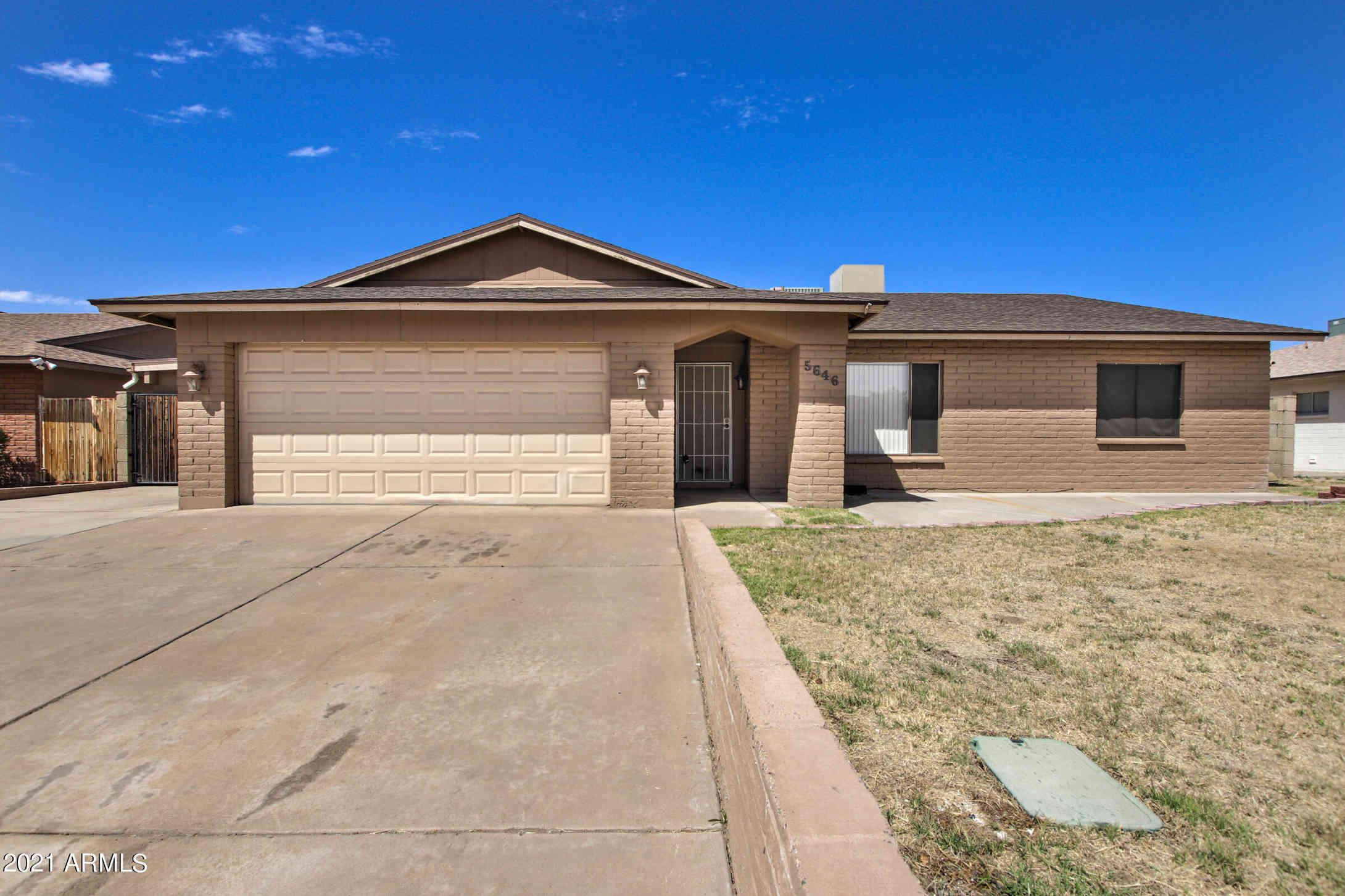 5646 W HEARN Road, Glendale, AZ, 85306,