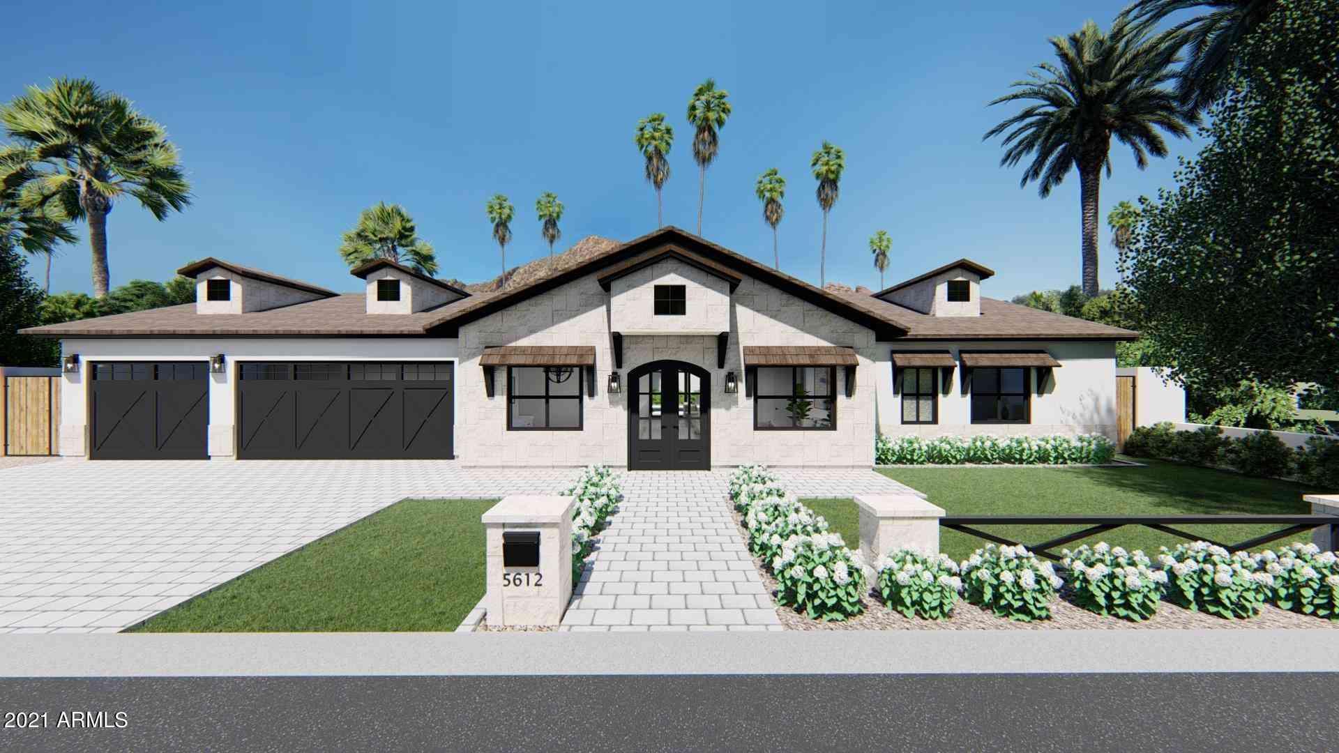 5612 E CALLE DEL PAISANO --, Phoenix, AZ, 85018,