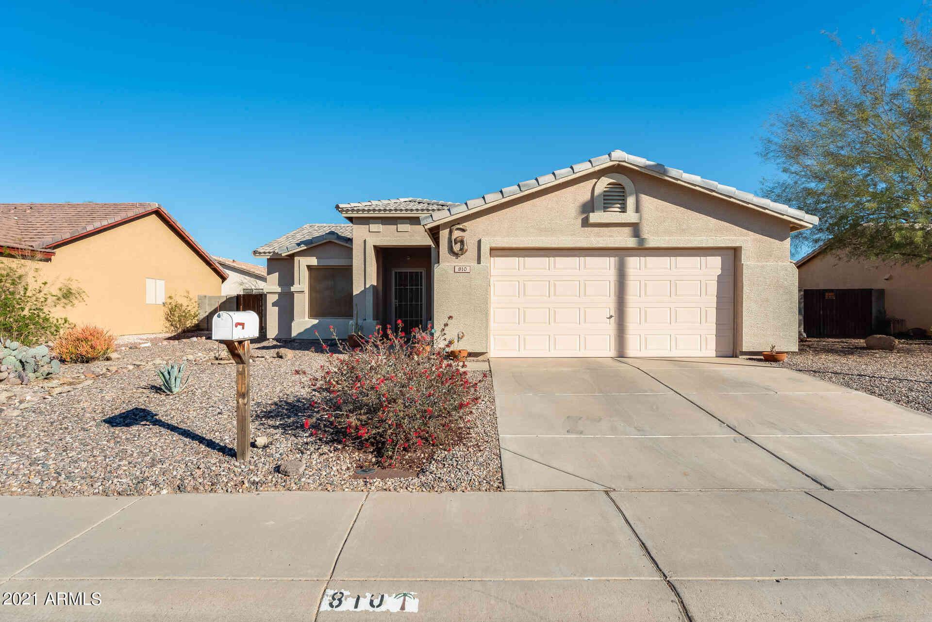 810 E FISHER Avenue, Buckeye, AZ, 85326,