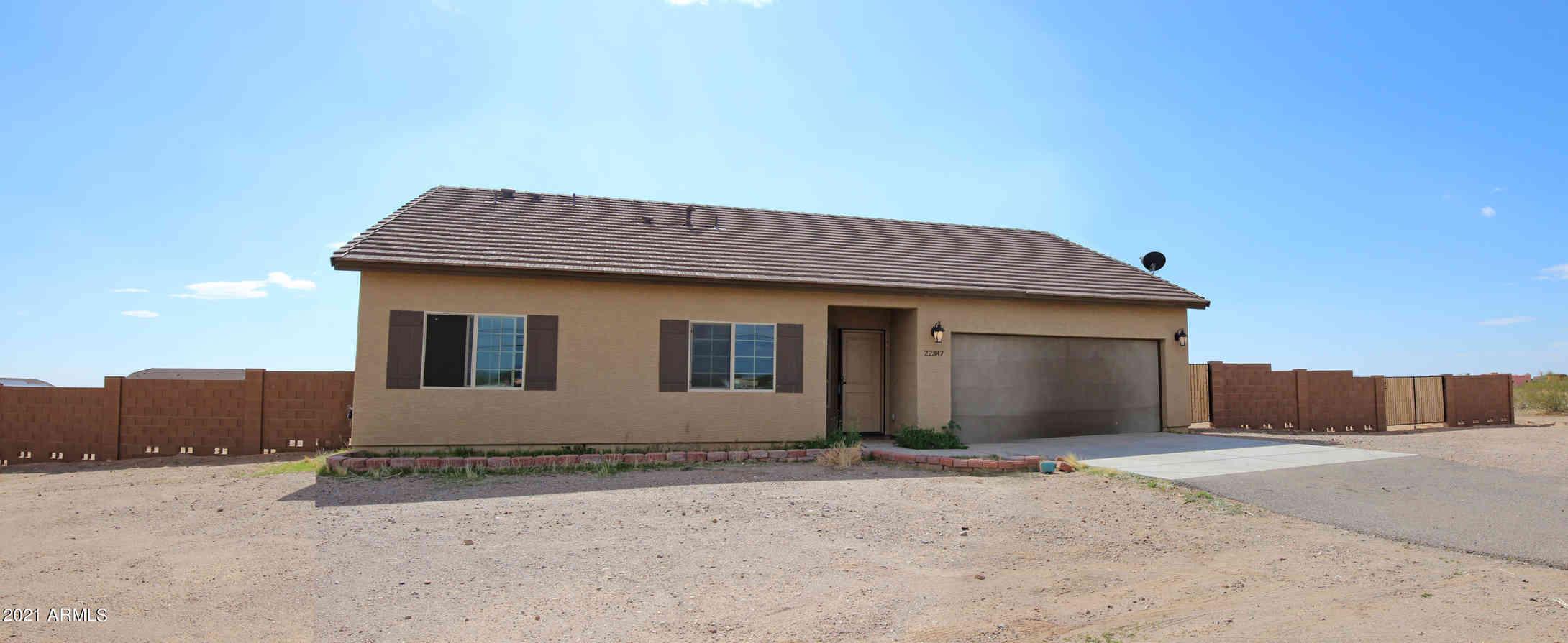 22347 W PATTON Road, Wittmann, AZ, 85361,