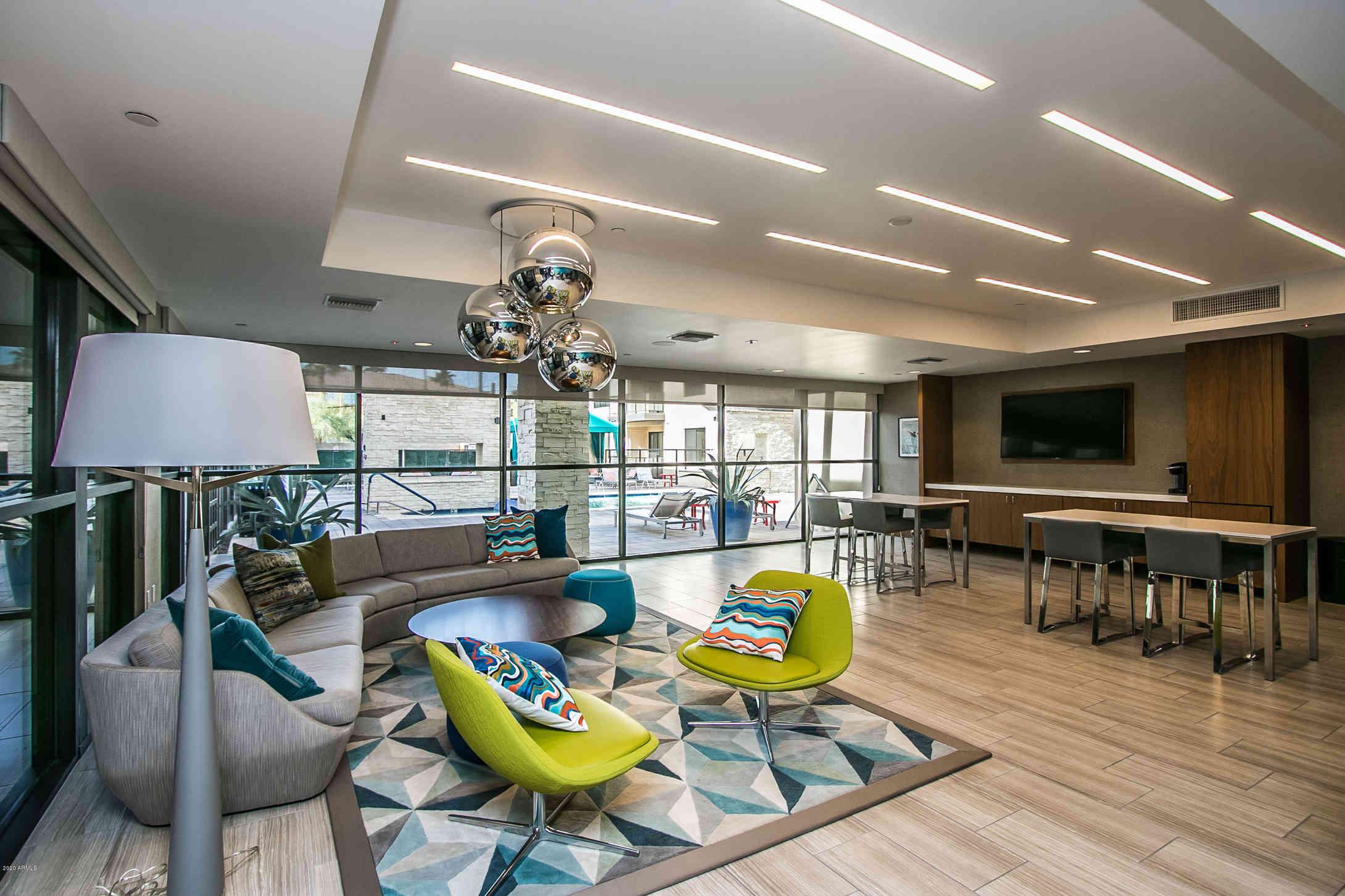 Sunny Living Room, 7300 E EARLL Drive #2018, Scottsdale, AZ, 85251,