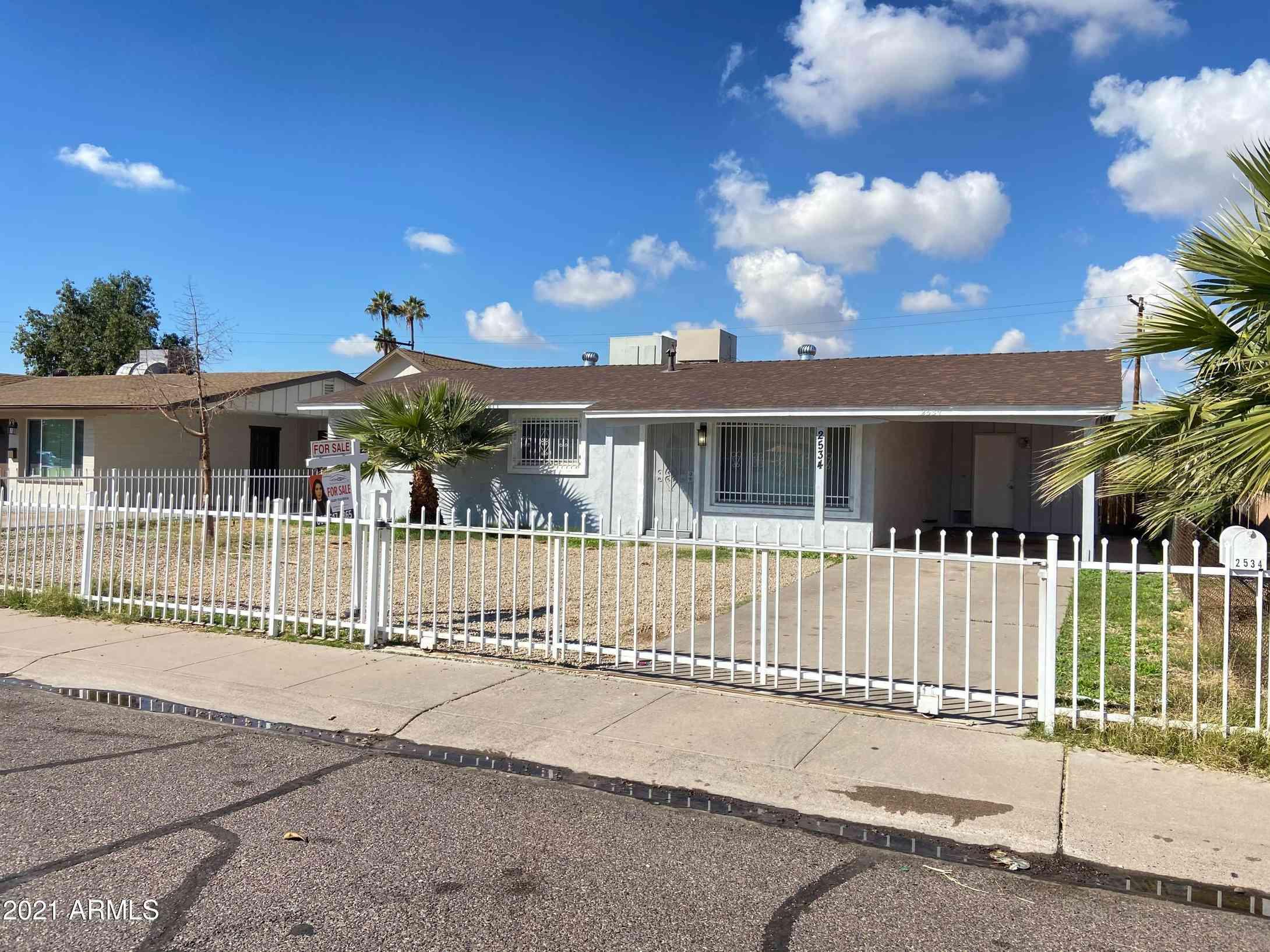 2534 N 48TH Drive, Phoenix, AZ, 85035,